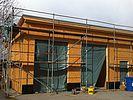 Vollwärmeschutz auf Holzkonstruktion